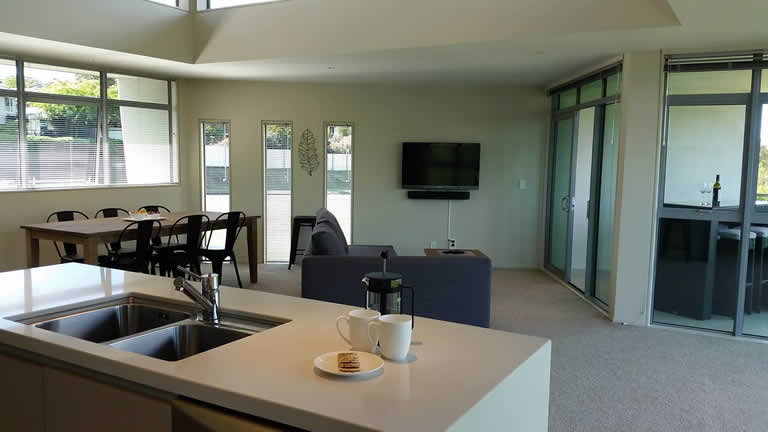Riverside Apartment Two in Taupo