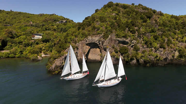 Sail Barbary Taupo NZ accommodation