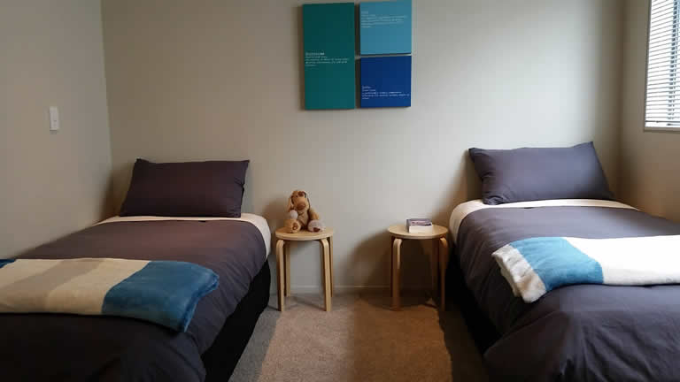 Two bedroom holiday apartment in Taupo NZ