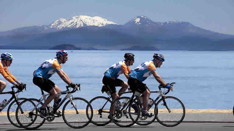Taupo accommodation for cycle challenge