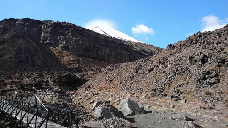 Tongariro Alpine Crossing - Devil's Staircase
